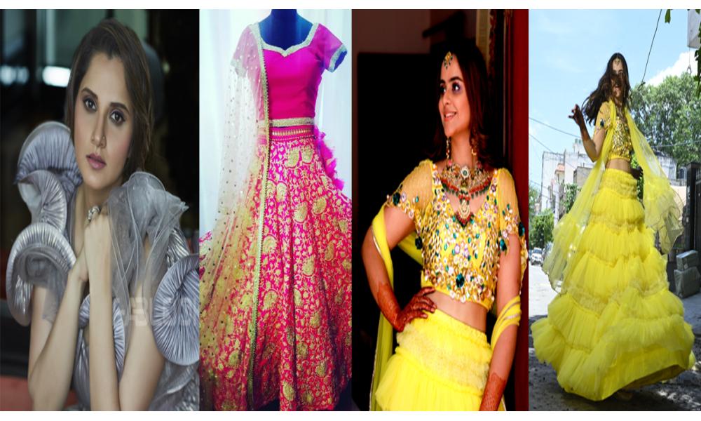 Amazing Though Trending fashion statement to follow this wedding season!!